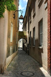 Chartres in France. Small street in the town called Chartres Stock Photo