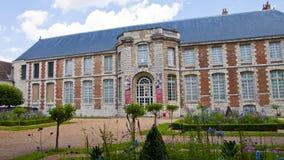 chartres france Konstmuseum arkivbilder