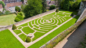 chartres france labirinto Fotos de Stock