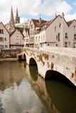 Chartres histórica Foto de archivo libre de regalías