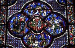 Chartres - Katedra Fotografia Stock