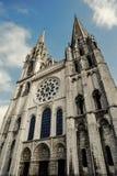 Chartres katedra Obrazy Stock
