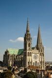 Chartres katedra Zdjęcia Royalty Free