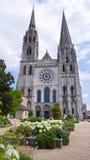 Chartres katedra Francja Obraz Royalty Free