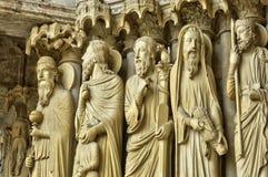 Chartres katedra w Eure et Loir Obrazy Royalty Free