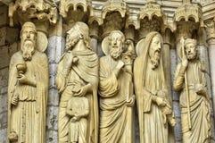 Chartres katedra w Eure et Loir Obraz Royalty Free