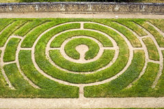 Chartres - labyrint Royaltyfria Bilder