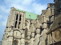 Chartres, Notre Dame de Chartres Cathedral Stock Image