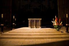 chartres ołtarzowa katedralna magistrala fotografia stock
