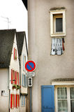 Chartres street. Small street in the town called Chartres Royalty Free Stock Photography