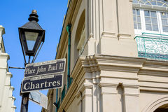 Chartres street sign Stock Photos