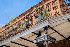 Chartres street sign Stock Photography