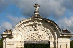 Chartreuse du Liget - Cartusian-klooster stock foto