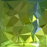 Chartreuse Green Abstract Low Polygon Background Royalty Free Stock Image