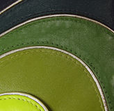 Chartreuse - OliveDrab - Green leather pattern Royalty Free Stock Image
