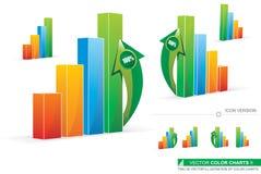Charts_2 Image libre de droits