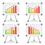 Charts Royalty Free Stock Photos