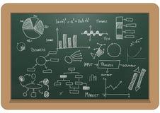Charts and diagrams Stock Photos