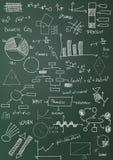 Charts and diagrams Royalty Free Stock Photos