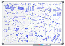 Charts and diagrams Royalty Free Stock Photography