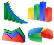Charts and Graphs Royalty Free Stock Image