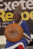 Chartwell Dutiro plays the mbira Stock Images