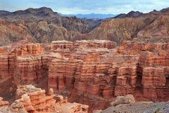 charyn каньона Стоковая Фотография