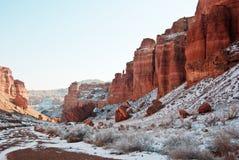 charyn каньона Стоковые Фото