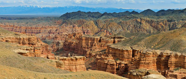Charyn Canyon Stock Photography