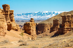 Charyn Canyon Royalty Free Stock Photo