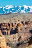 Charyn Canyon Stock Image