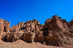 Charyn canyon stock images