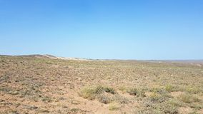 Charyn Canyon in Kasachstan stock photo
