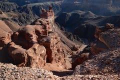 Charyn canyon, Kazakhstan Royalty Free Stock Images