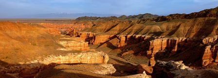 Charyn canyon, Kazakhstan Royalty Free Stock Photo