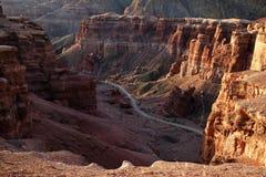 Charyn canyon, Kazakhstan Stock Image
