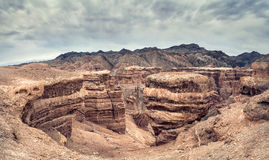 Charyn canyon in Kazakhstan Stock Images