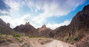 Charyn canyon in Kazakhstan stock video footage