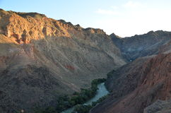Charyn kanjon Royaltyfri Bild