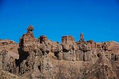 Charyn kanjon royaltyfri foto