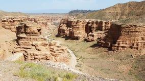 Charyncanion in Kasachstan stock afbeeldingen
