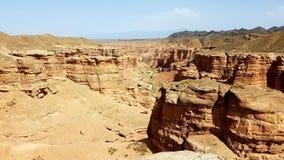 Charyncanion in Kasachstan royalty-vrije stock foto's