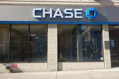 Chase Bank. A branch of Chase Bank in Morningside Heights, New York City Royalty Free Stock Photography