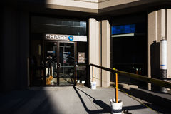 Chase Bank branch in New York Stock Photo