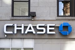 Chase bank Royalty Free Stock Photography