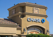 Chase Bank Exterior Stock Images