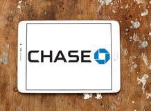 Chase bank logo Royalty Free Stock Photography