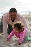 chase dziecka Zdjęcia Royalty Free