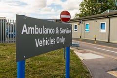 Chase farm hospital in Enfield london. Enfield, london. June 2018. A view of signage at Chase Farm hospital in Enfield london royalty free stock photography
