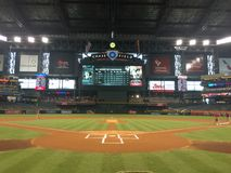 Chase Field Home The For The Arizona Diamondbacks Stock Photos